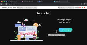 Screen Recording with Microphone - Step 4