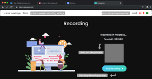Screen Recording with Webcam - Step 4