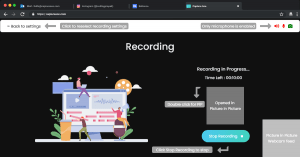 Screen Recording with Webcam - Step 5